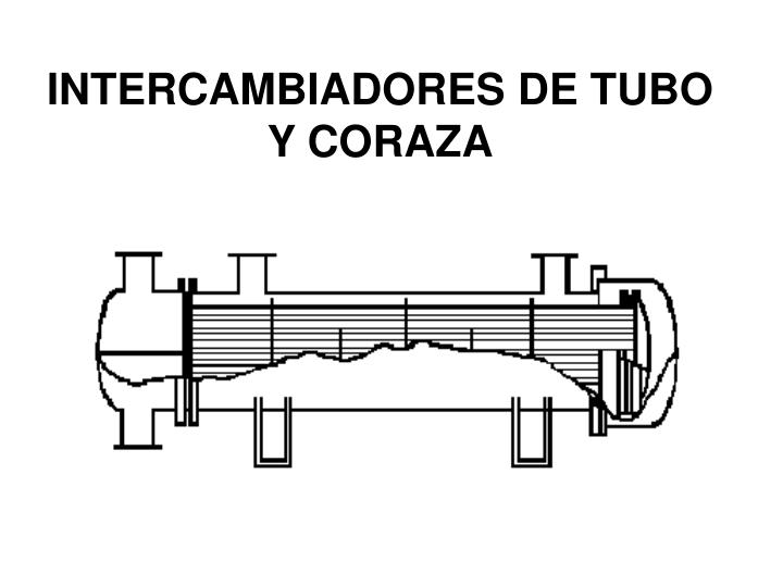 INTERCAMBIADORES DE TUBO Y CORAZA