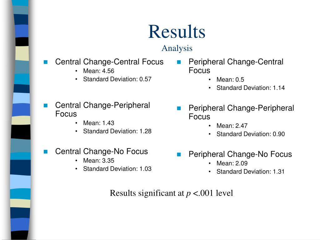 Central Change-Central Focus