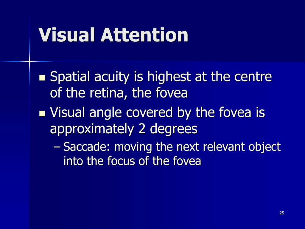 Visual Attention
