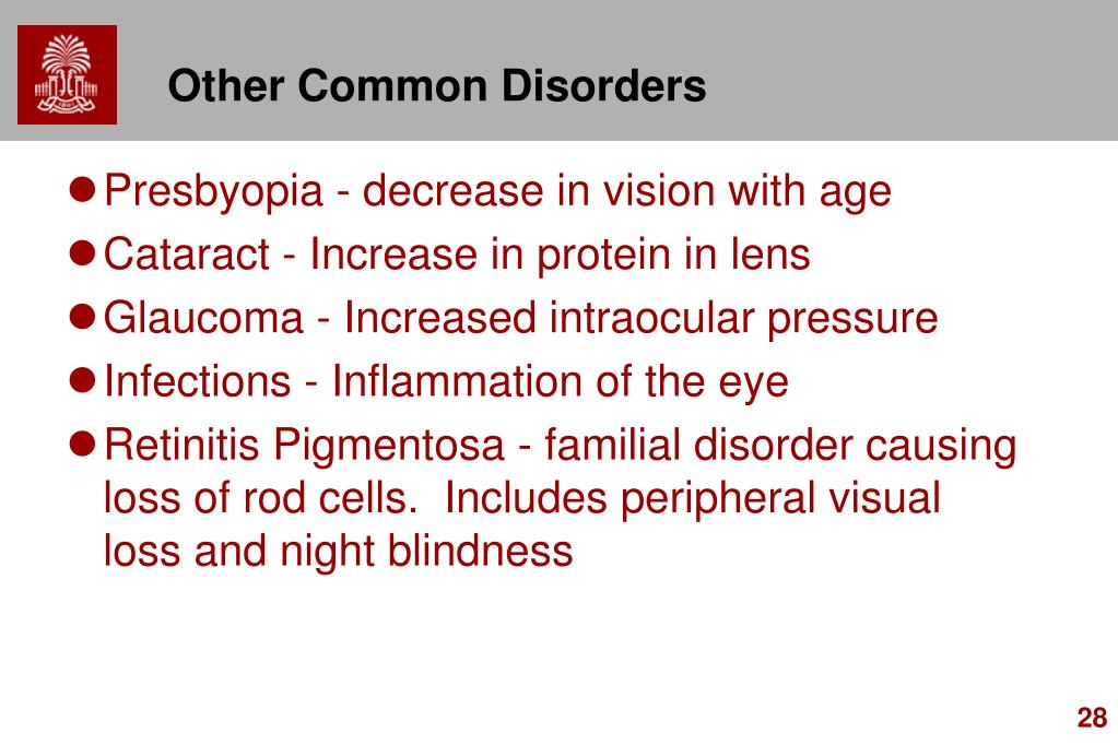 Other Common Disorders