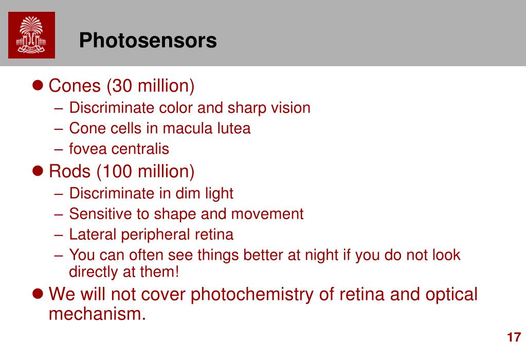 Photosensors