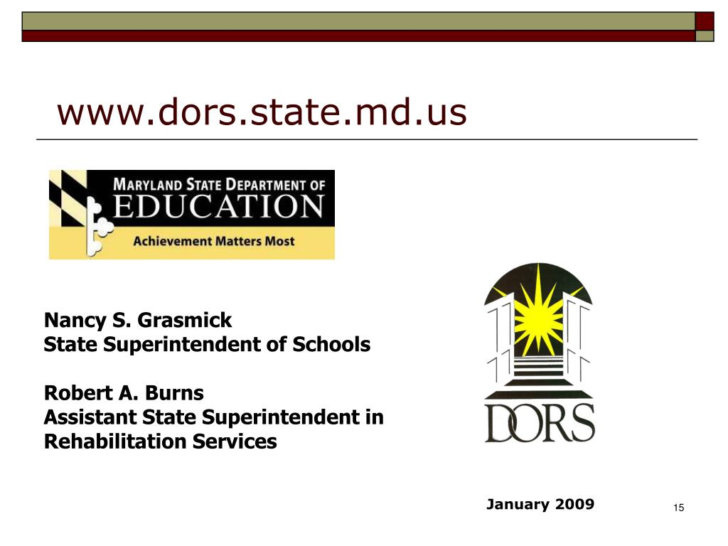 www.dors.state.md.us