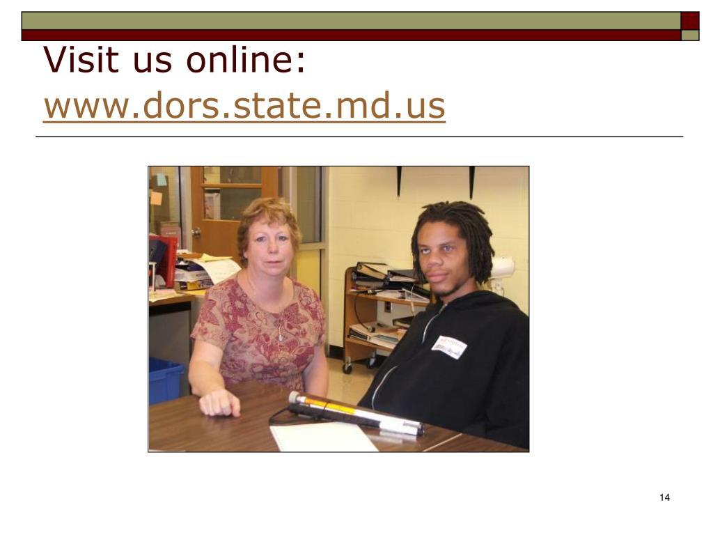 Visit us online: