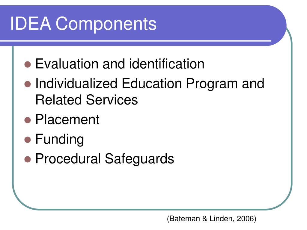 IDEA Components