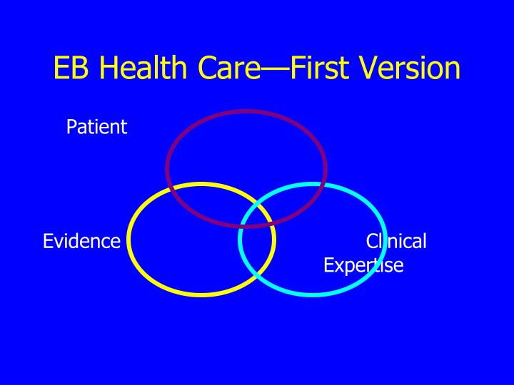 EB Health Care—First Version