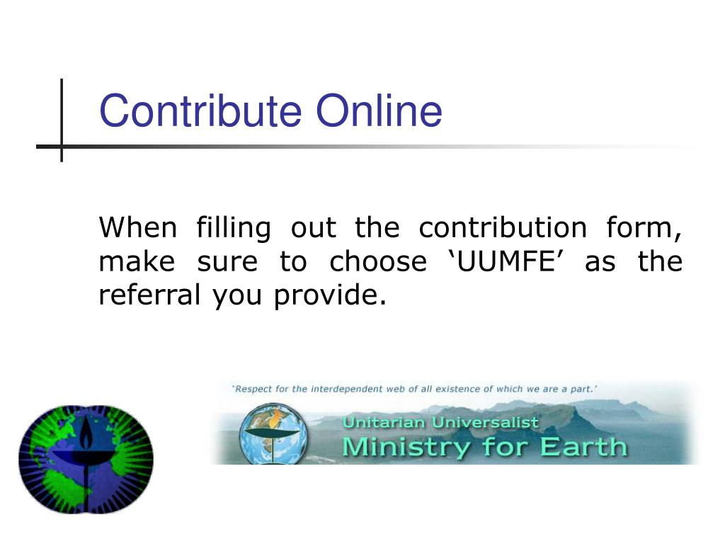 Contribute Online