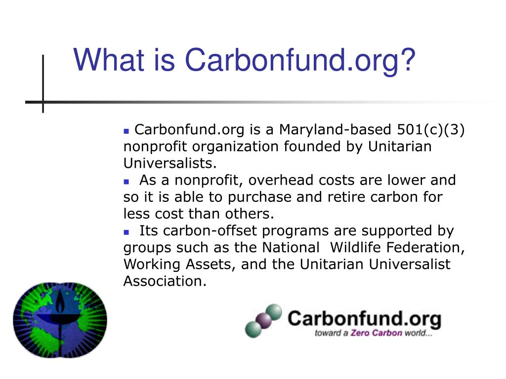 What is Carbonfund.org?