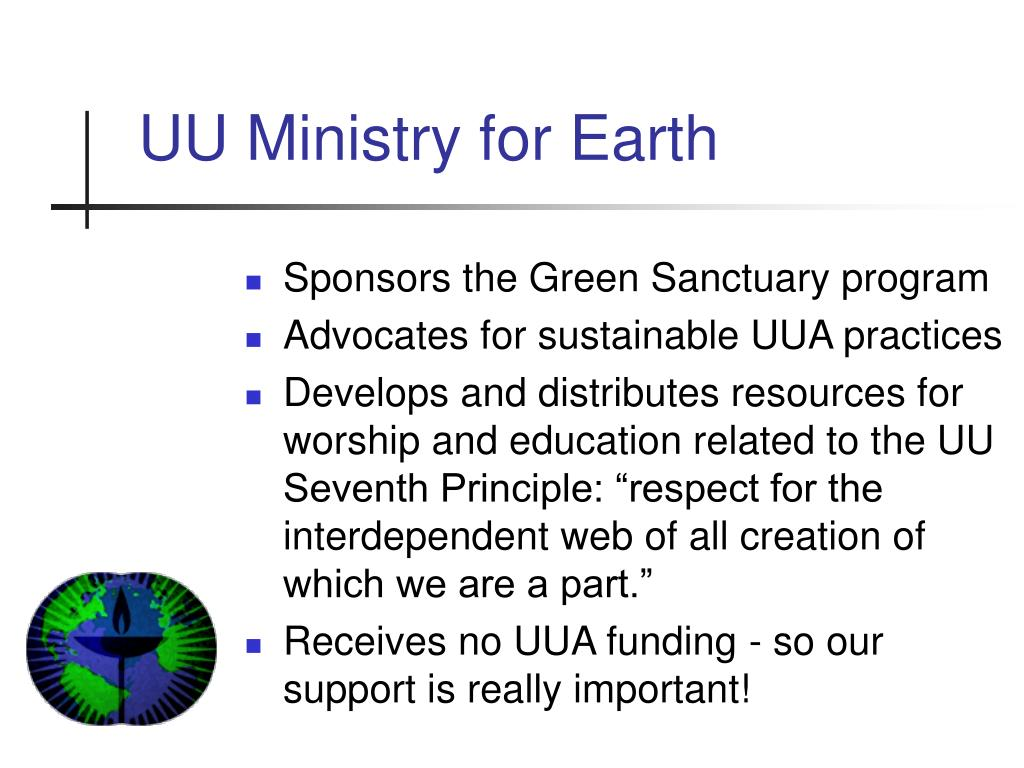 UU Ministry for Earth