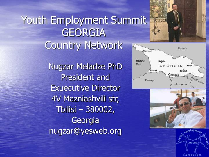 Youth employment summit georgia country network