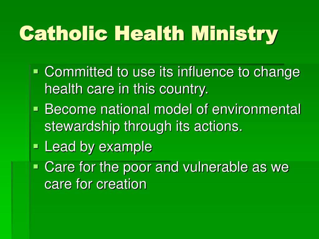 Catholic Health Ministry