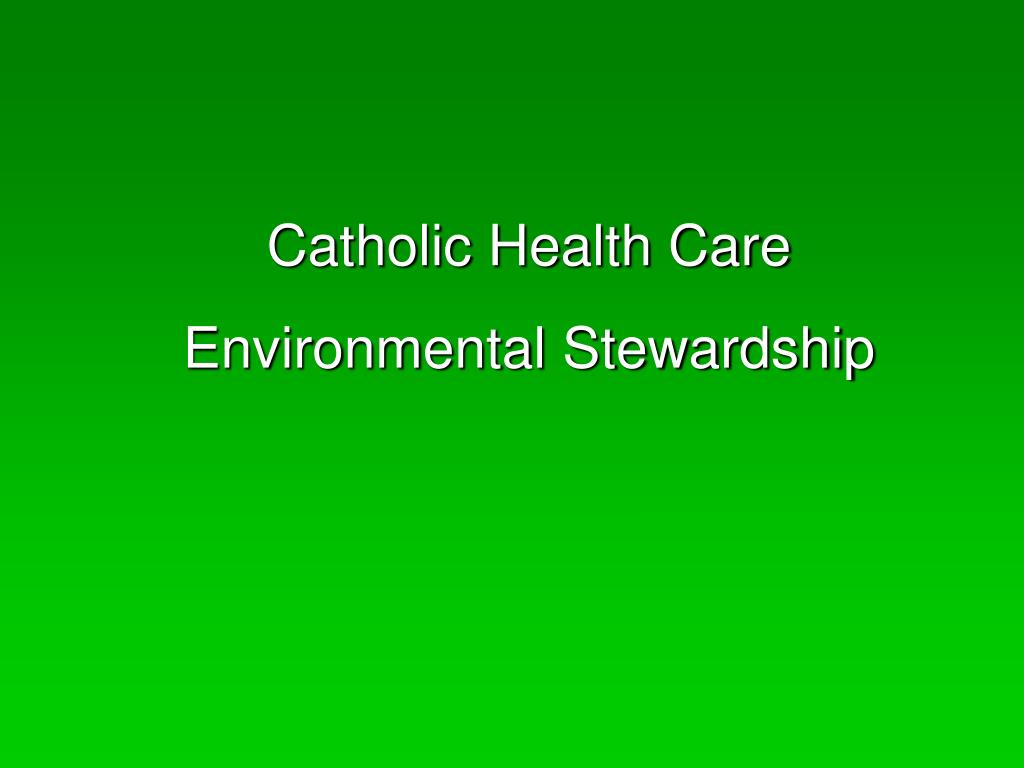 Catholic Health Care