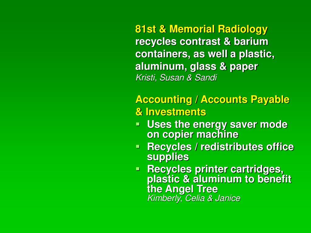 81st & Memorial Radiology