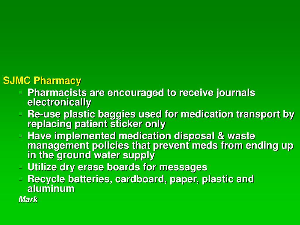 SJMC Pharmacy