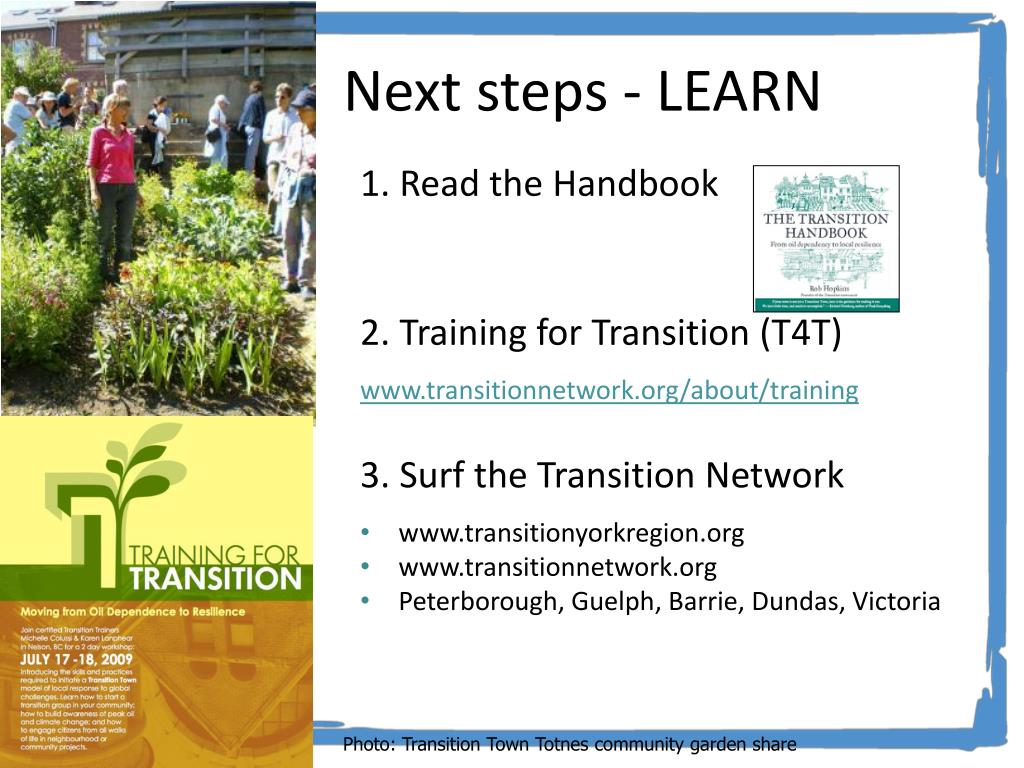 Next steps - LEARN