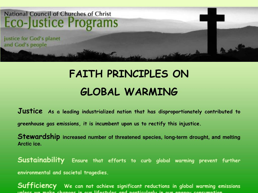 FAITH PRINCIPLES ON