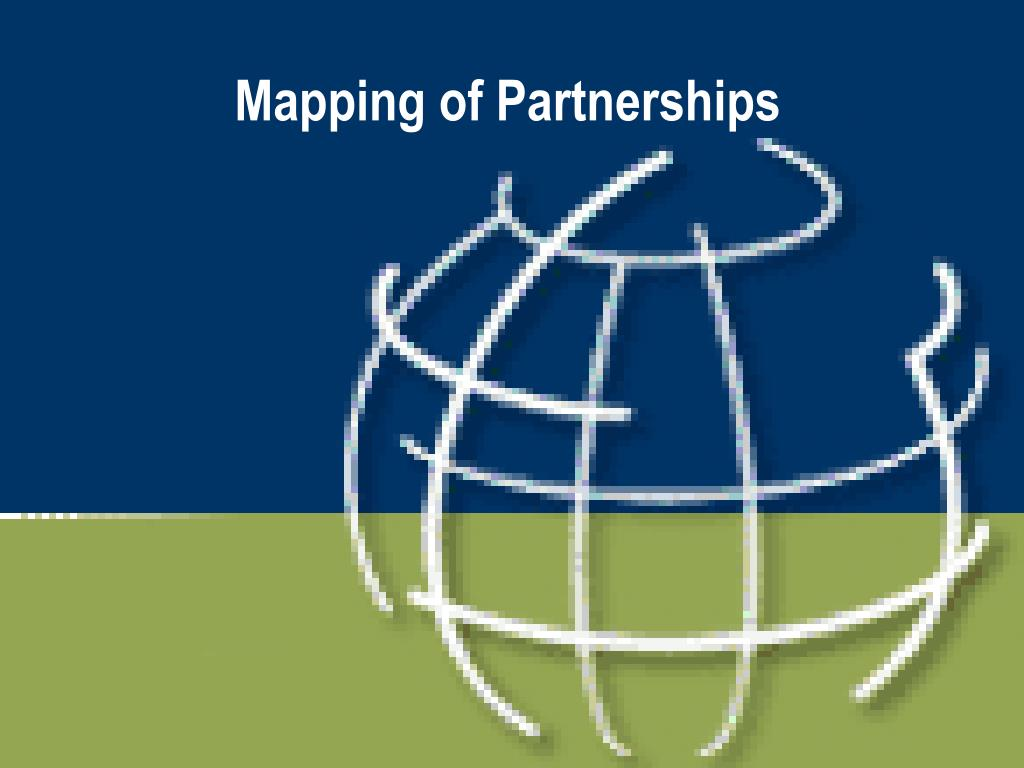 Mapping of Partnerships