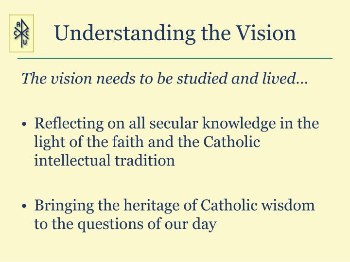 Understanding the Vision