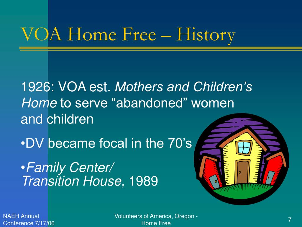 VOA Home Free – History