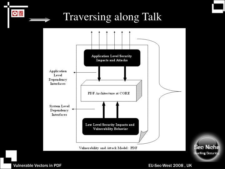 Traversing along Talk