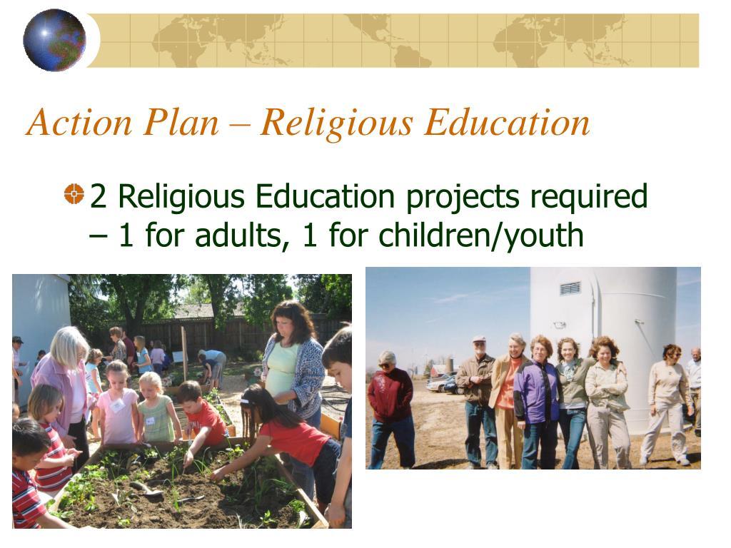 Action Plan – Religious Education