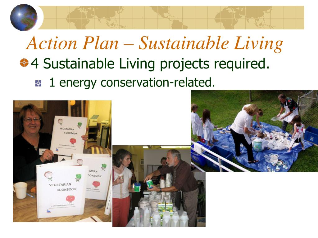 Action Plan – Sustainable Living