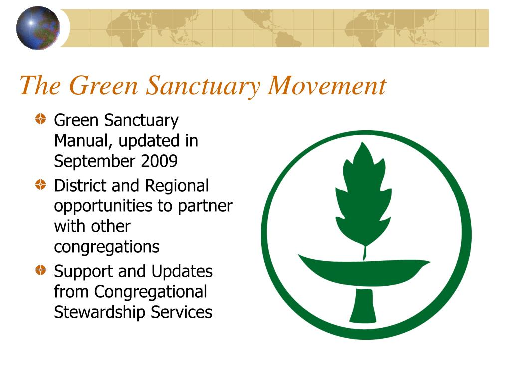 The Green Sanctuary Movement