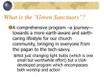 what is the green sanctuary