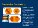 compatible contexts 2