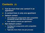 contexts 3