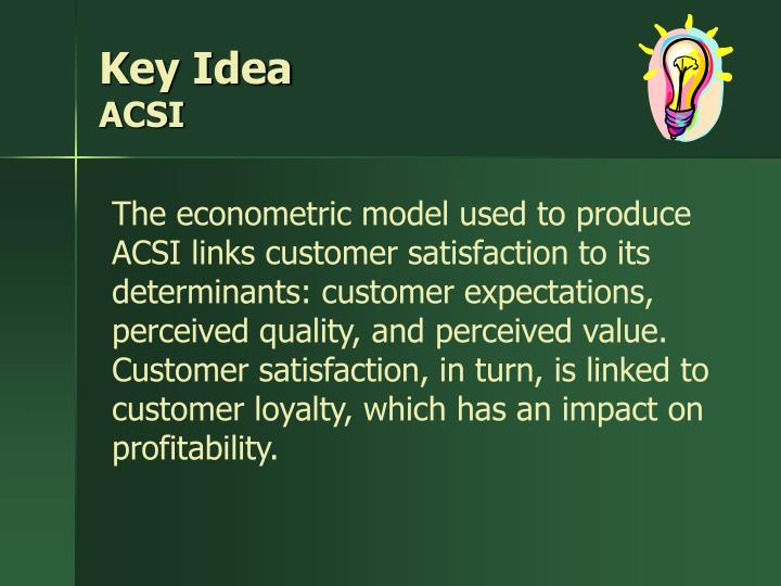Key Idea