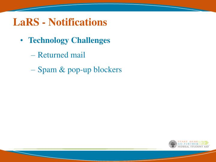 LaRS - Notifications
