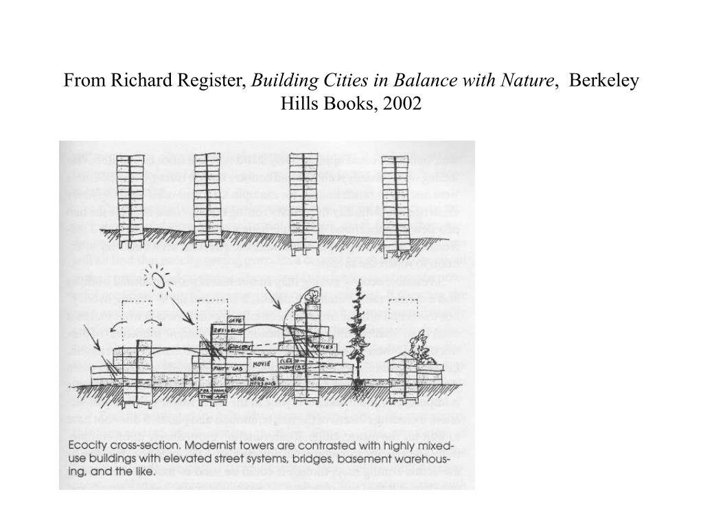 From Richard Register,