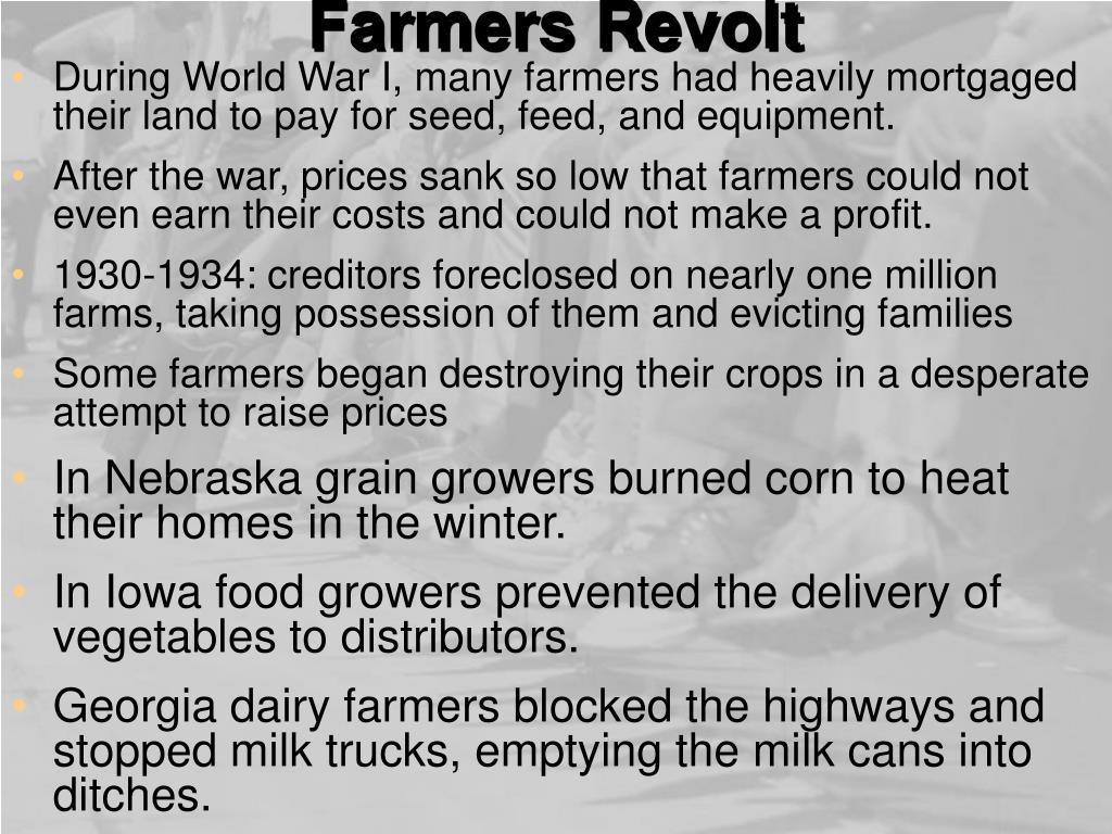 Farmers Revolt