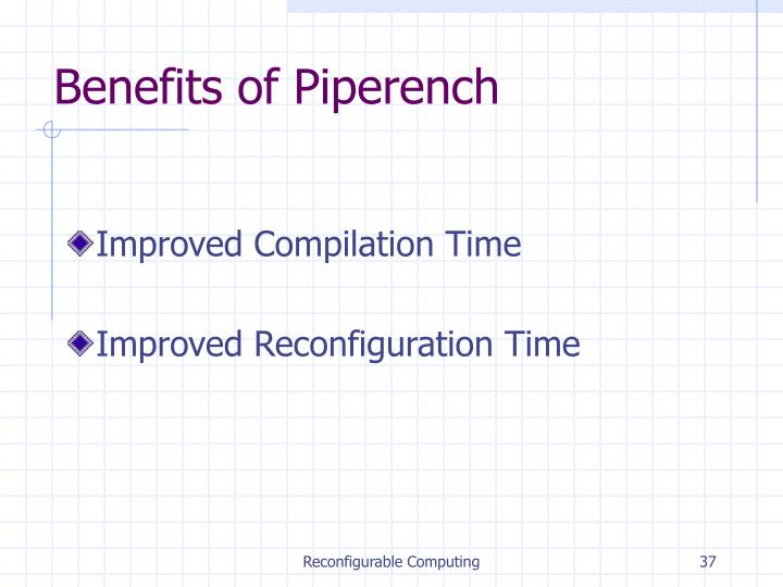 Benefits of Piperench