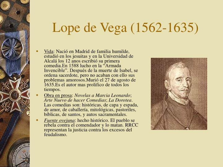 Lope de Vega (1562-1635)