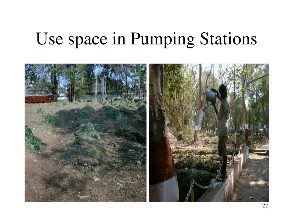 Use space in Pumping Stations