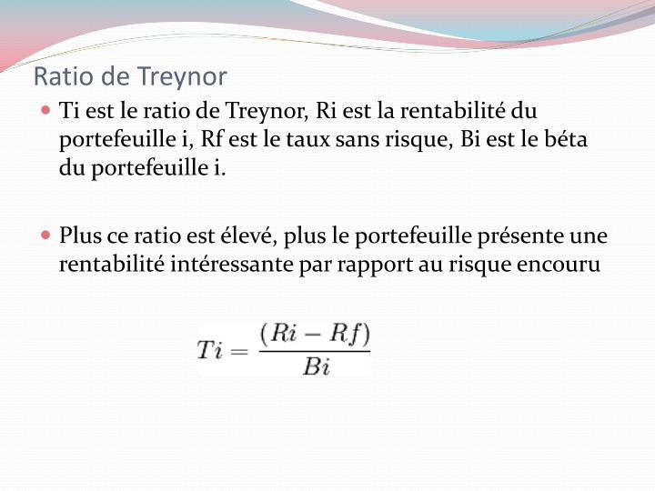 Ratio de Treynor