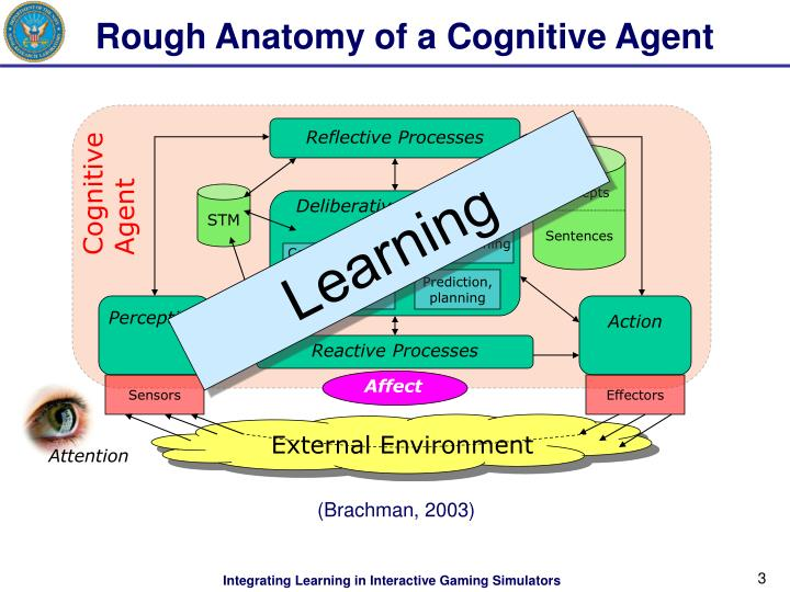 Rough anatomy of a cognitive agent l.jpg