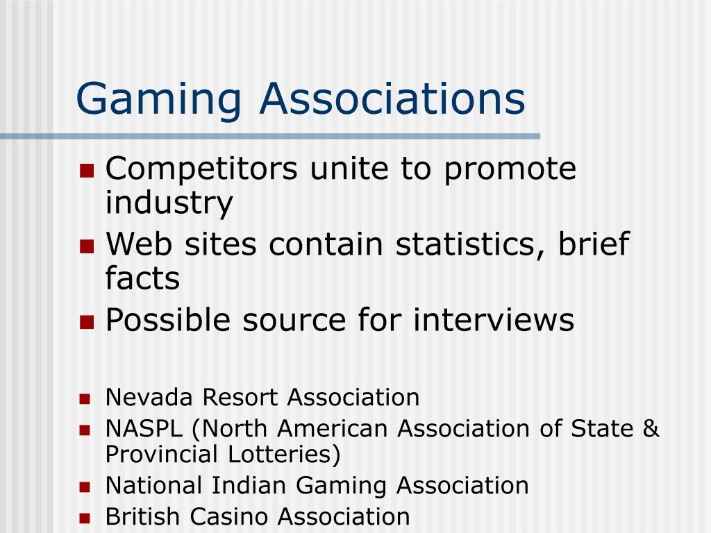 Gaming Associations