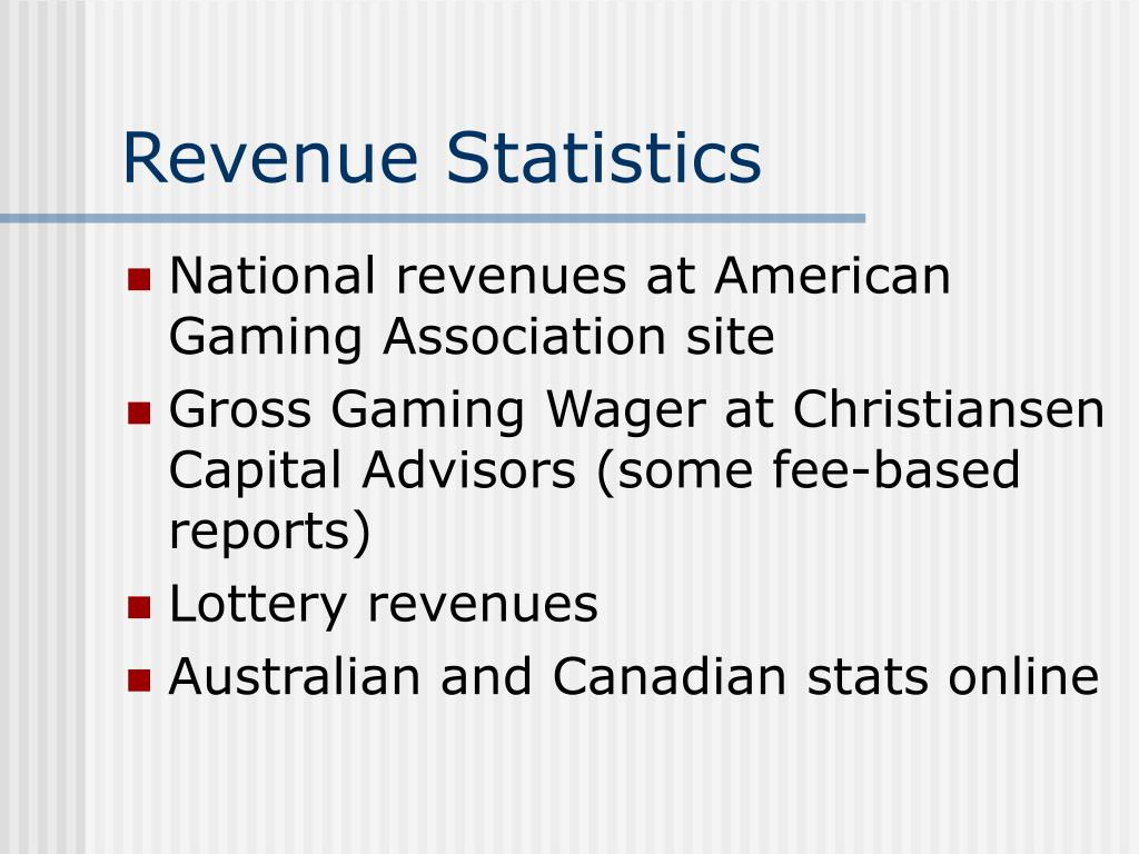 Revenue Statistics