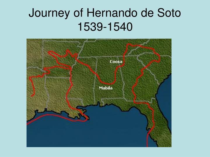 Journey of Hernando de Soto 1539-1540