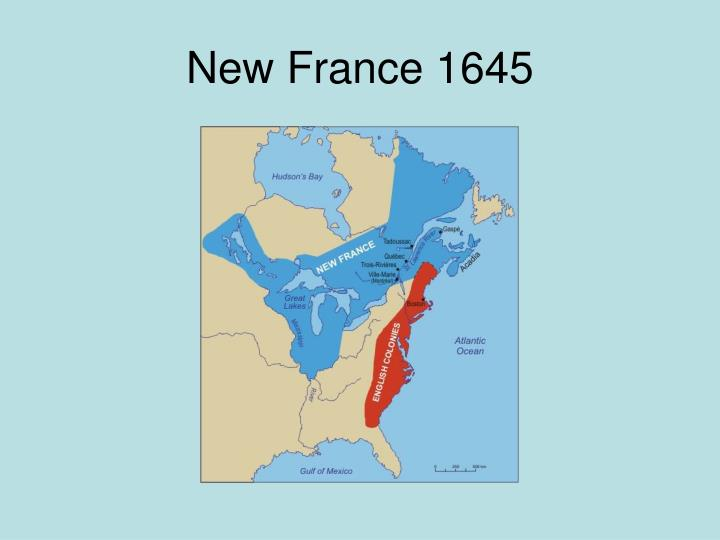 New France 1645