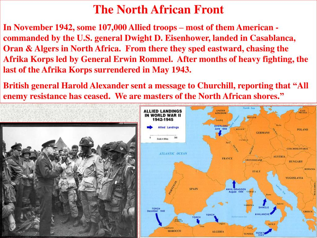 The North African Front