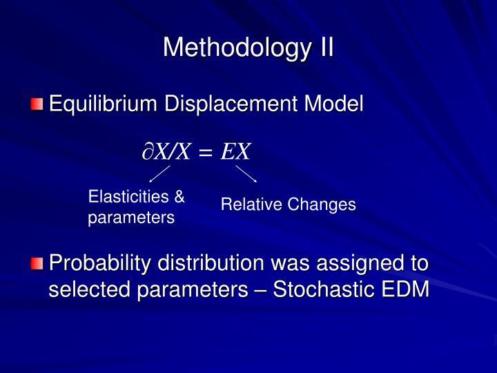 Methodology II