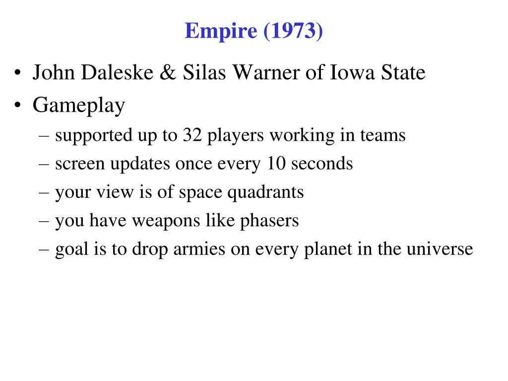 Empire (1973)