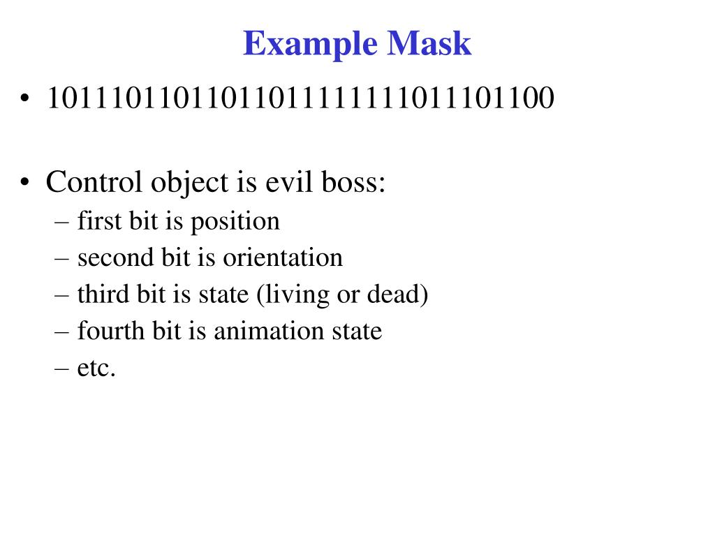 Example Mask