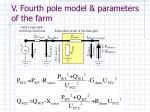 v fourth pole model parameters of the farm