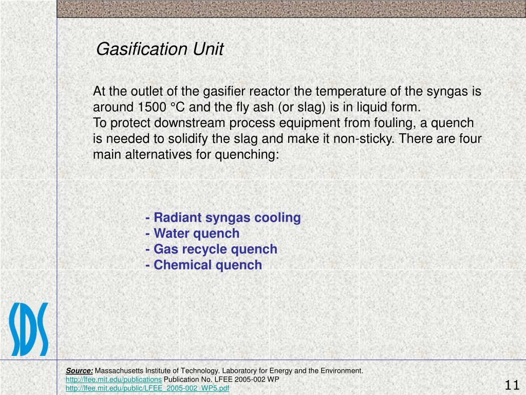 Gasification Unit