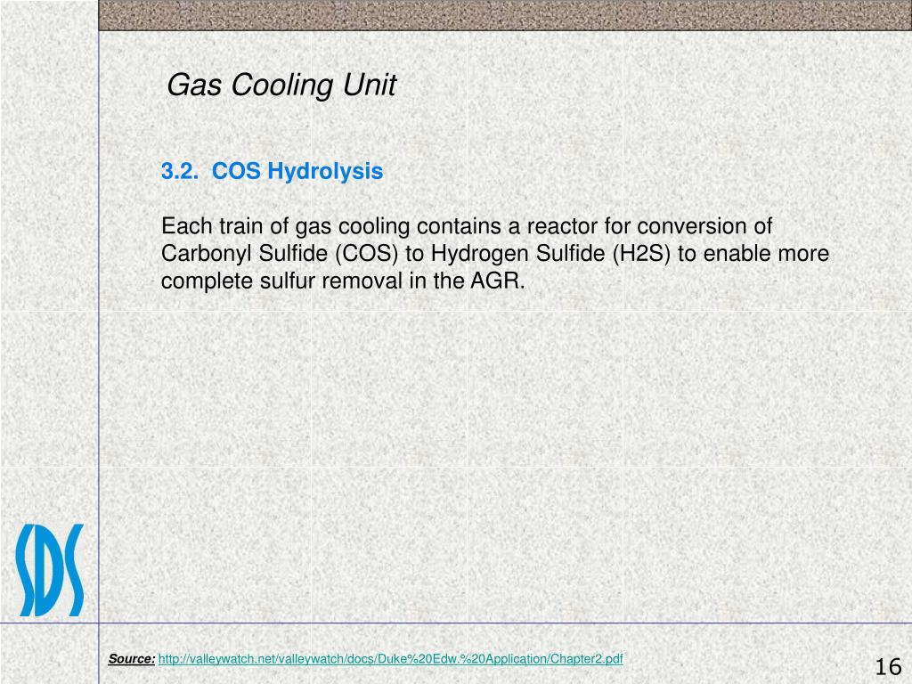 Gas Cooling Unit
