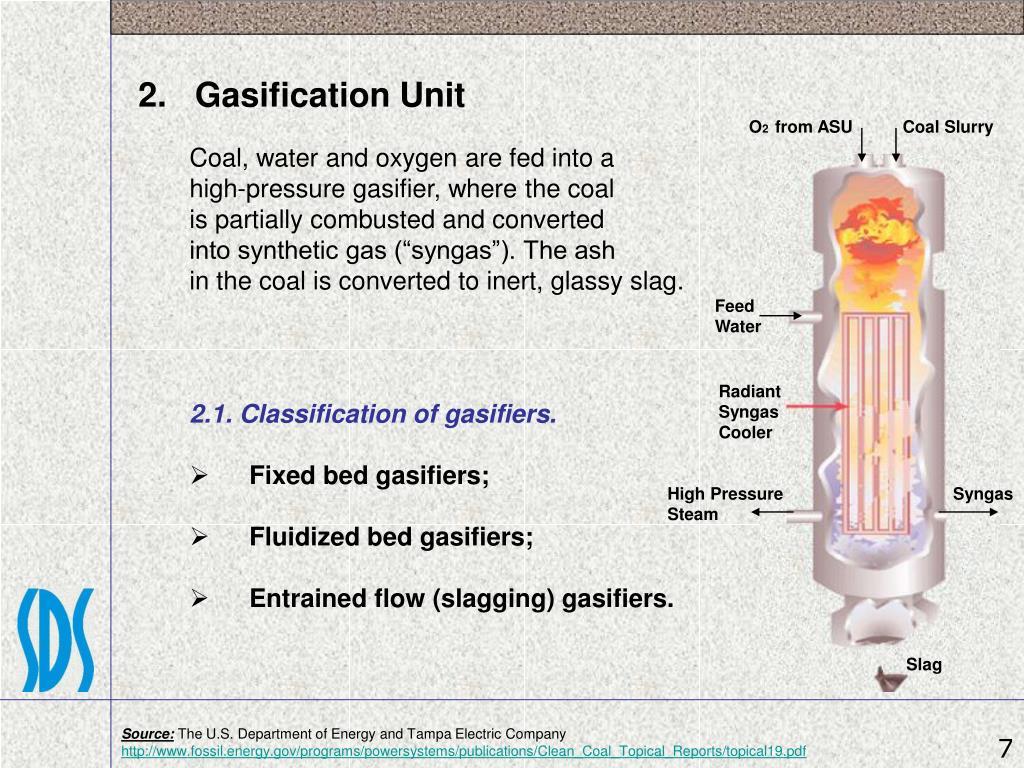 2.   Gasification Unit